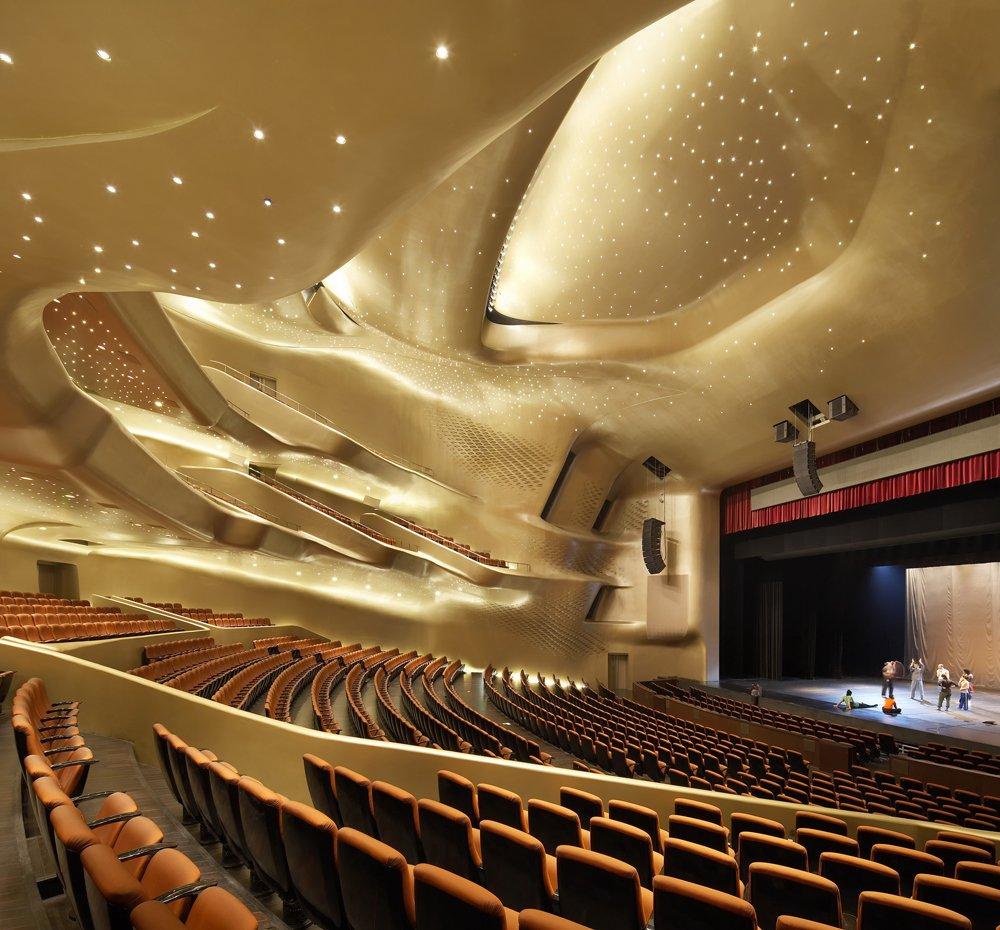 Guangzhou Opera House Zaha Hadid Sala Interna